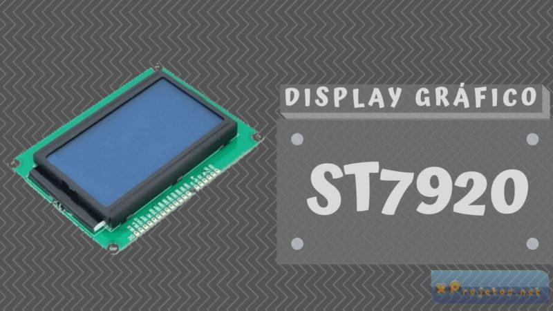 Display Gráfico 128×64 ST7920