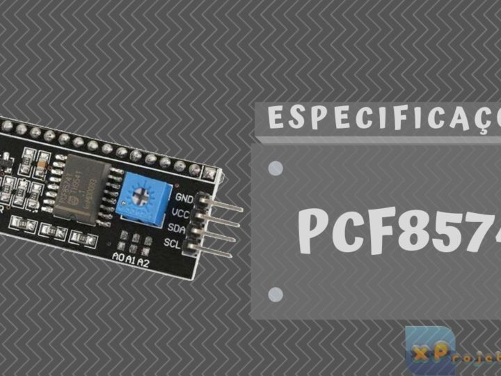 PCF8574 – I²C para LCD