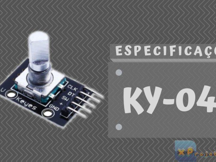 Codificador Rotativo KY-040 – ESP32